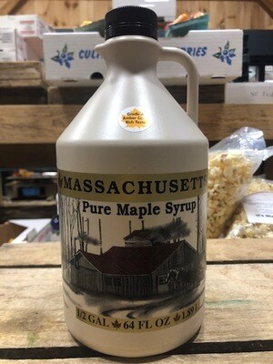 Pure Maple Syrup Amber 1/2 Gallon - 64 oz.
