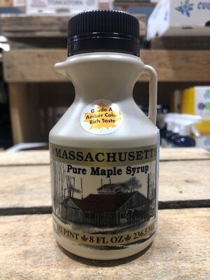Pure Maple Syrup Amber 1/2 Pint - 8 oz.