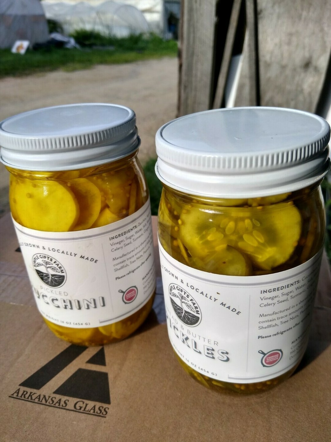 Simple Gifts Farm Bread and Butter Pickles