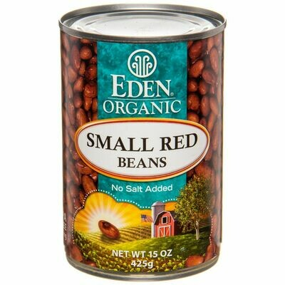 Eden Organic Small Red Beans 15 oz. can