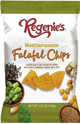 Regenies Pita Mediterranean Style Falafel Chips