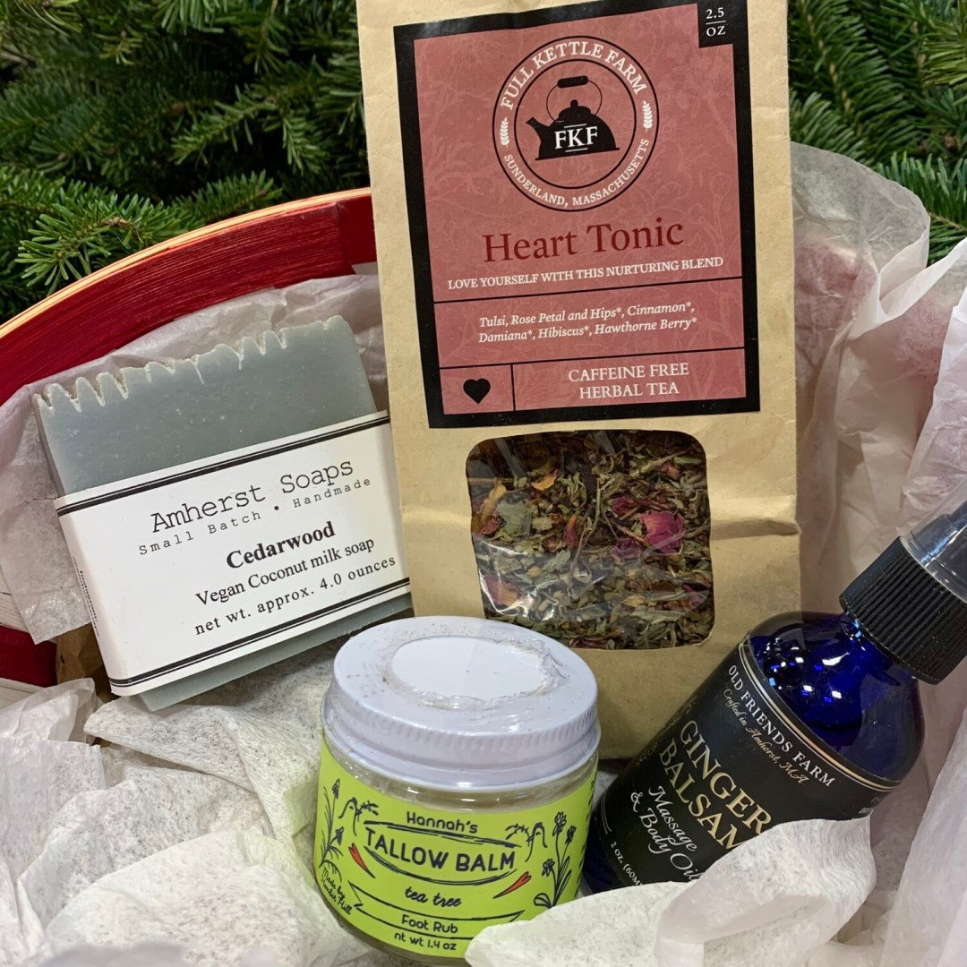 Self-Care Gift Basket