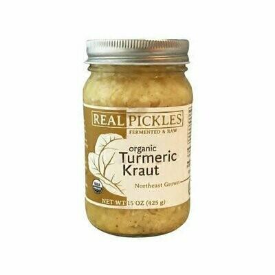Real Pickles TURMERIC KRAUT 15 oz