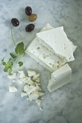 Maplebrook Whole Milk Feta Block 8 oz.