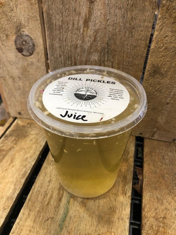 Papa J's Pickle juice!