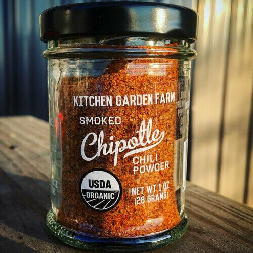 Kitchen Garden Smoked Chipotle Chili Powder