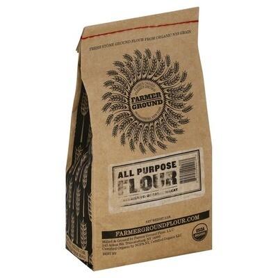 Farmer Ground - Organic All Purpose Flour 2 lbs