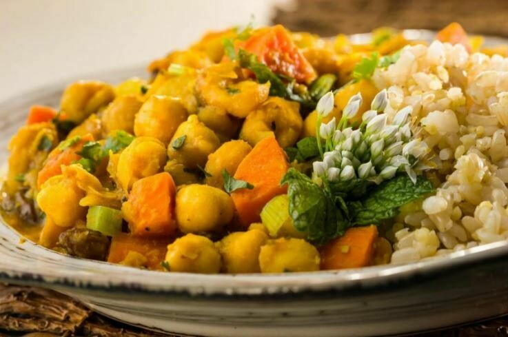 Global Village (GF, Vegan) Chickpea Vegetable Tajine Entree
