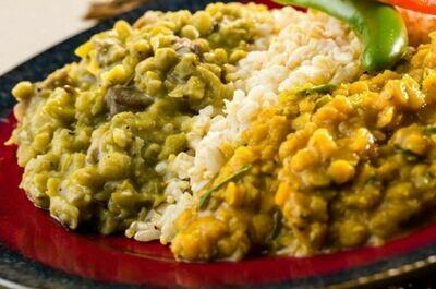 Global Village (GF, Vegan) Ethiopian Lentil Stew Combo Entree