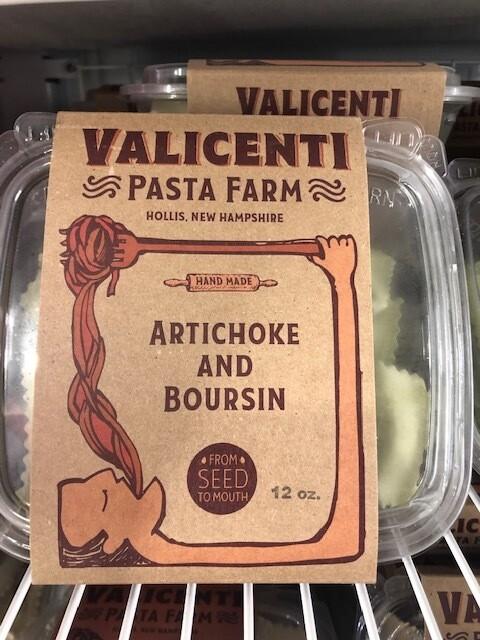 Valicenti Pasta Artichoke and Boursin Ravioli