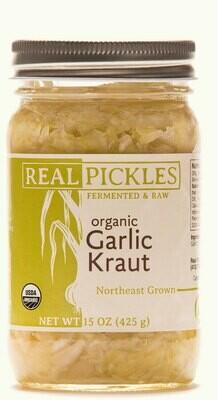 Real Pickles Garlic Kraut