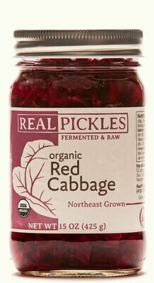 Real Pickles Red Cabbage