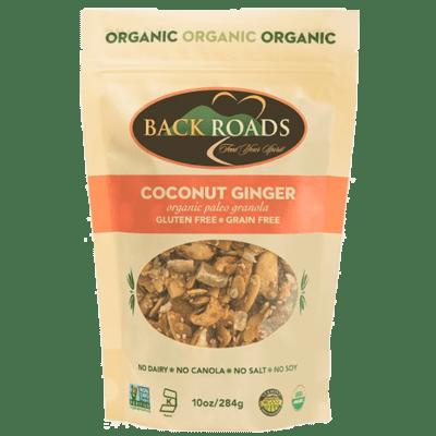 Back Roads Granola 10 oz. - Coconut Ginger