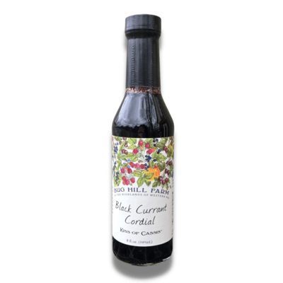 Bug Hill Farm Black Currant Cordial