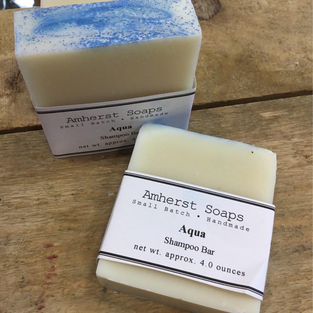 Amherst Soap Aqua Shampoo Bar