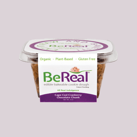 Be Real Cookie Dough (GF) - Cape Cod Cranberry Chocolate Chunk