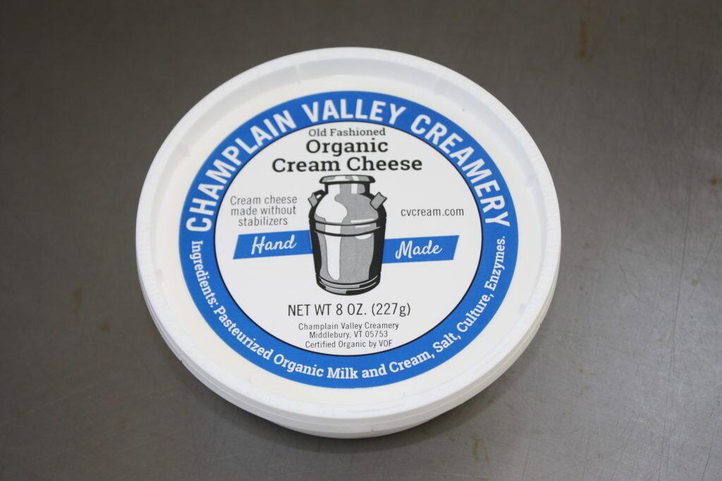 Organic Cream Cheese - Champlain Valley Creamery
