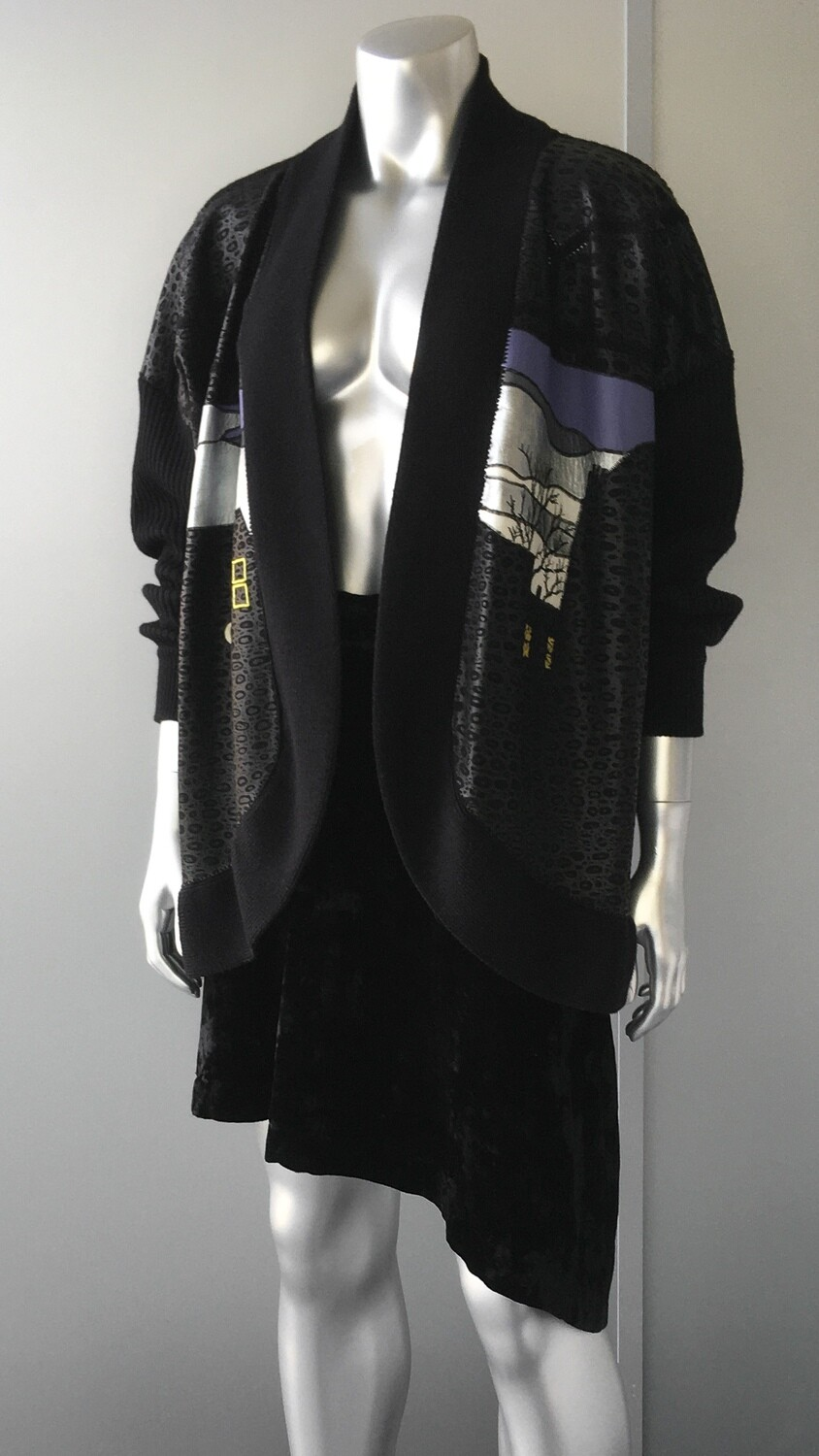 DIDER RONSARD AND WOOL CARDIGAN