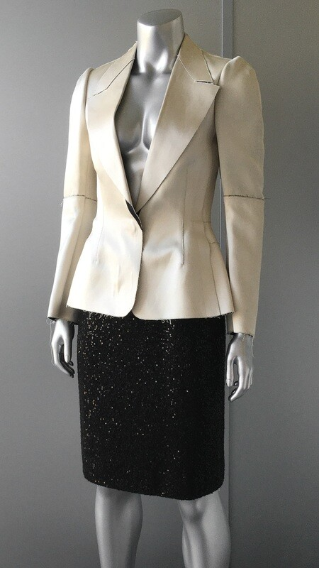 CALVIN KLEIN UNFINISHED BLAZER