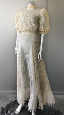 Vintage Edwardian top and skirt