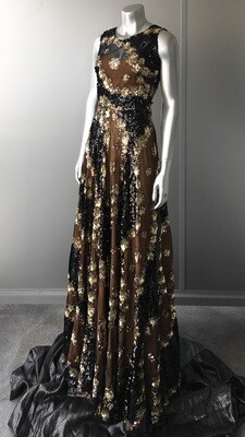 VINTAGE SEQUIN GLAMOUR GOWN