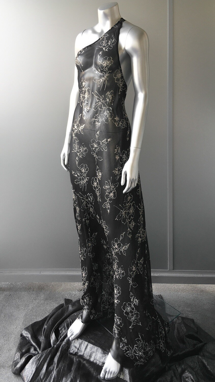 1930s DECO GOWN