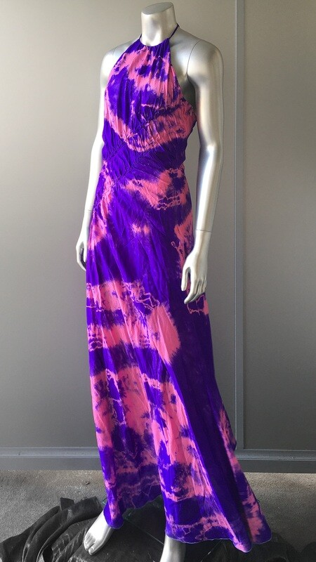 GIANFRANCO FERRE SILK MAXI DRESS