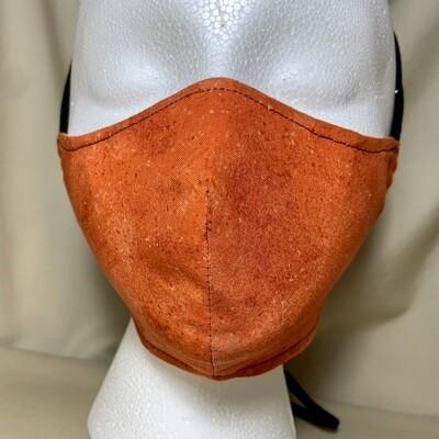 Bright Orange Face Covering - Small - Non-Medical