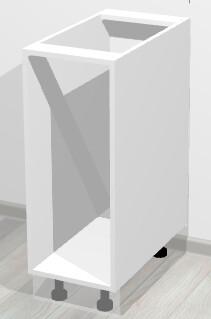 Кухонный корпус нижний