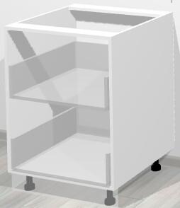 Кухонный корпус нижний с двумя ящиками
