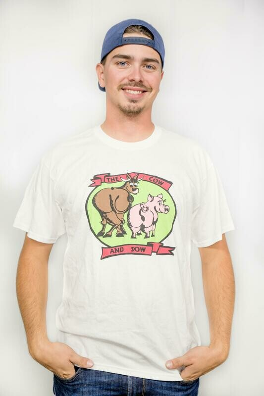 Cow and Sow Logo Unisex T Shirt