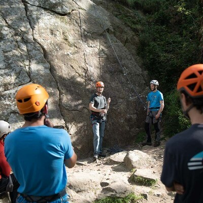 Rock Climbing Instructor award (RCI)