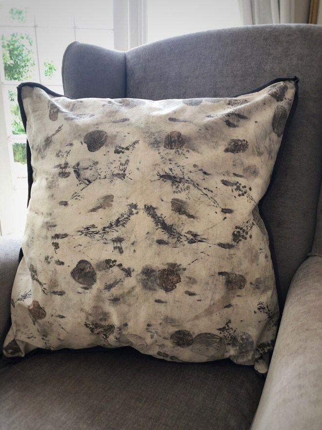 Cc06 Eco Printed Cotton cushion cover