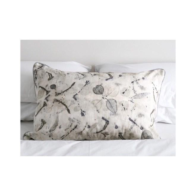 CC08 Hemp/linen Eco Printed cushion cover