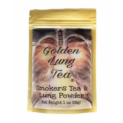 Smokers Tea & Lung Powder 1oz