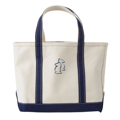 Branded LL Bean Tote Bag - Blue