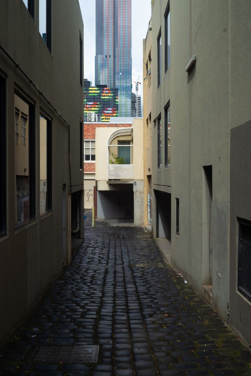 Carlton Alley A4 Fine Art Print
