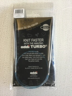 Addi  Turbo Fixed Knitting Needles