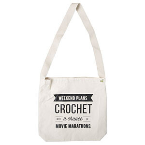Crochet Weekend Plans Tote Bag