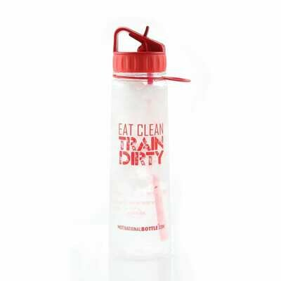 Red Train Harder Straw®