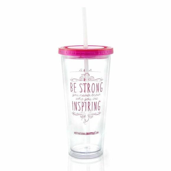 Pink Motivational Tumbler®