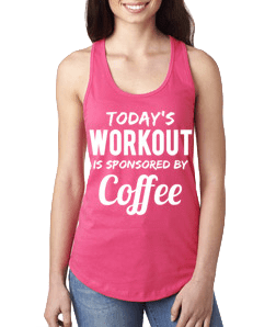 Motivational Tank Top® Coffee (XS)