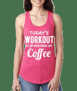 Motivational Tank Top® Coffee (S)