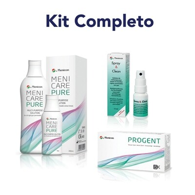 Kit completo Menicare - Progent - Spray&Clean - OFFERTA