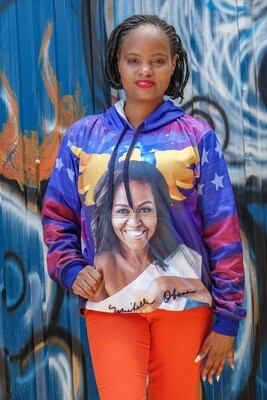 Michelle Obama Sublimation Jersey