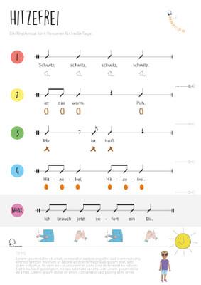 Rhythmical: Hitzefrei