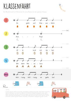 Rhythmical: Klassenfahrt