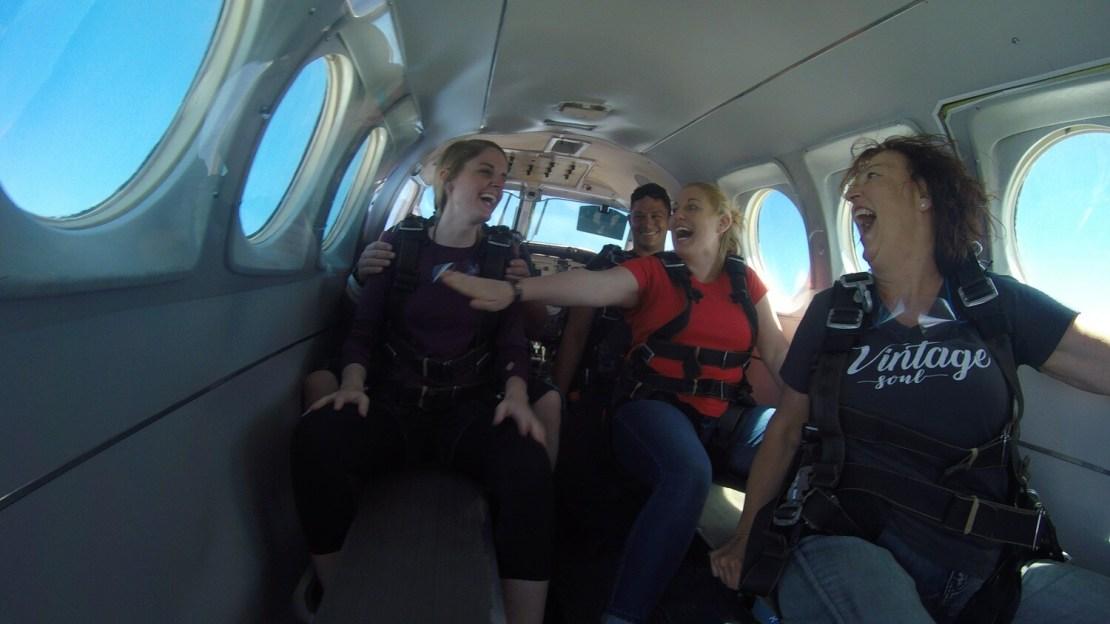 Group of Three at 14,000 feet