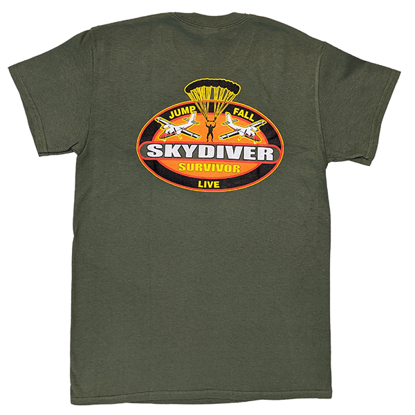 Skydiver Survivor T-Shirts