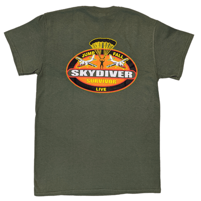 Skydiver Survivor T-Shirts